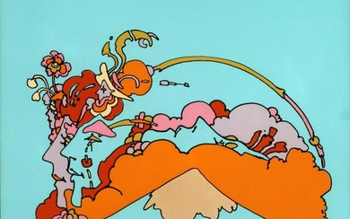 Peter Max - Faces