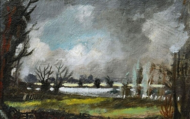 Rowland Suddaby, British 1912-1972- The River Stour;...