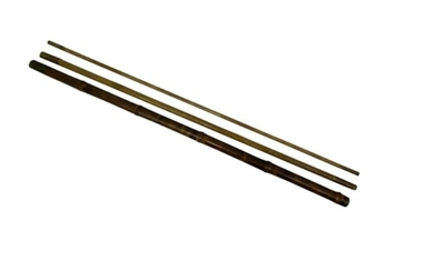 System cane - Sabbath Stick - Walking stick with hidden fishing rod for illegal fishing - Bamboo - Approx. 1870
