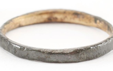 VIKING WOMAN'S WEDDING RING, 866-1067 AD, S6 1/4.