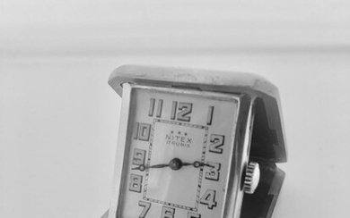 Vintage art-deco watch Signed Nitex