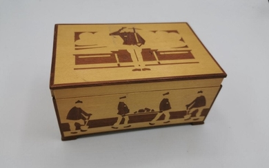 Wood Box from KL Grini - Concentration Camp - Shoah