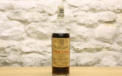"1 BOTTLE DEWARS FINEST SCOTCH WHISKY ""WHITE LABEL"""