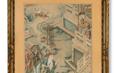 """Scene from the Chinese folk epic """"The Journey to the"""