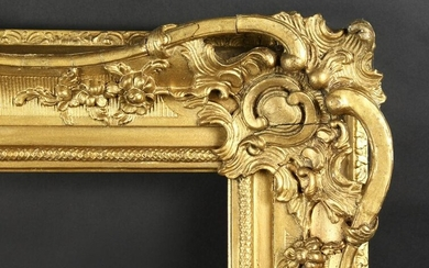 "A 19th Century French Gilt Composition Frame. 21.5"" x"