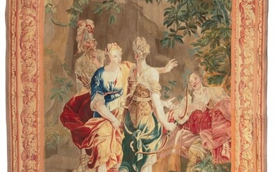 A LOUIS XIV MYTHOLOGICAL TAPESTRY, LATE 17TH/EARLY 18TH CENTURY