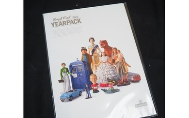 A collection of duplicated GB Year Packs to 2017, plus Year ...