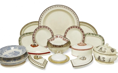 AMENDMENT: Please note there are only eight Wedgwood plates in...