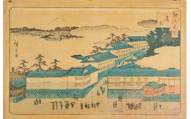 After HIROSHIGE (1797-1858)