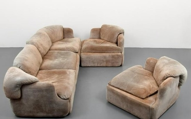 Alberto Rosselli Sofa & 2 Lounge Chairs
