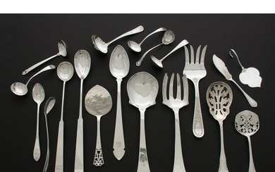 American Sterling and Silver Flatware Utensils