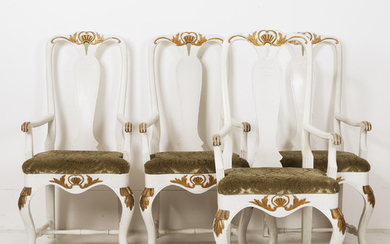 Armchairs 4 baroque style