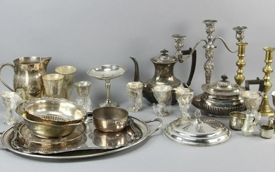 Assorted Sterling and Silverplate Items