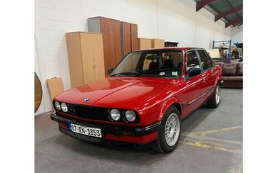 BMW 316 (E30), 1987, MANUAL, RED WITH BLACK AND TARTAN INTER...