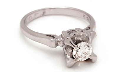 BWG solitaire ring