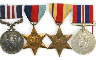 British Military World War II medal group relating to