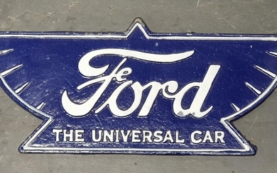 Cast Iron Reproduction Ford Sign