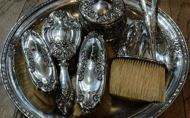 Early Victorian Tiffany & Co. Sterling Silver