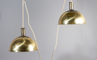 Florian Schulz, lamp / ceiling light 'Double Posa'