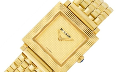 Gold Wristwatch, Boucheron