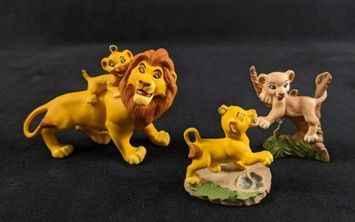 Hallmark Keepsake Disneys Lion King Lot Of Two Boxed
