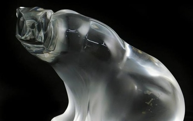 Lalique Crystal Polar Bear