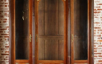 MONUMENTAL FRENCH EMPIRE STYLE BOOKCASE C.1900