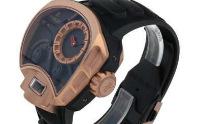 MP-02 KEY OF TIME, REF 902.OX.1138.RX LIMITED EDITION PINK GOLD TOURBILLON WRISTWATCH WITH POWER RESERVE INDICATION AND KEY OF TIME FUNCTION CIRCA 2010