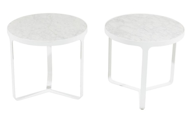 PAIR OF GORDON GUILLAUMIER 'CAGE' COFFEE TABLES FOR TACCHINI