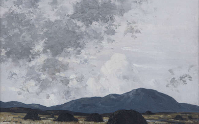 Paul Henry RHA (1877-1958), Bogland, Kerry