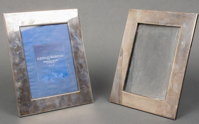 Reed & Barton Sterling Silver Picture Frames, Pair