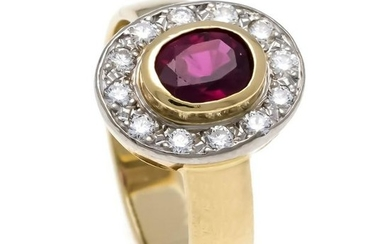Ruby-Brilliant-Ring GG /