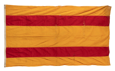 SPANISH-AMERICAN WAR: SPANISH CAPTURED FLAGS.