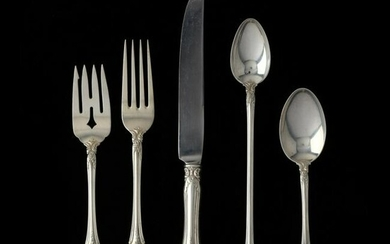 """Towle """"Old Master"""" Sterling Silver Flatware Service"""