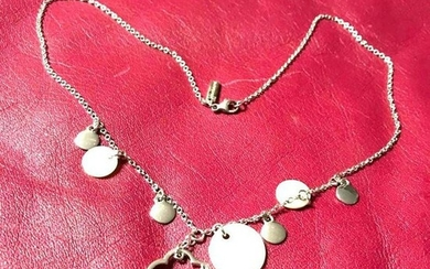 Vintage CACHAREL Sterling Silver Mother of Pearl