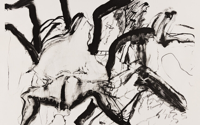 WILLEM DE KOONING Woman at Clearwater Beach