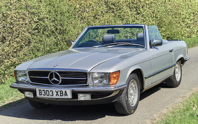 1984 Mercedes-Benz 500 SL, Registration no. B303 XBA Chassis no. 1070462A017028