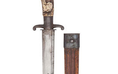 A German Hunting Knife, 19th Century