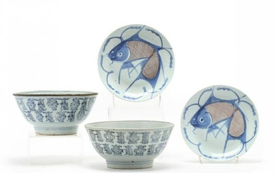 A Group of Southeast Asian Porcelain