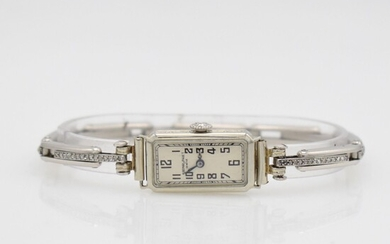 AUDEMARS PIGUET 18k white gold Art Deco...