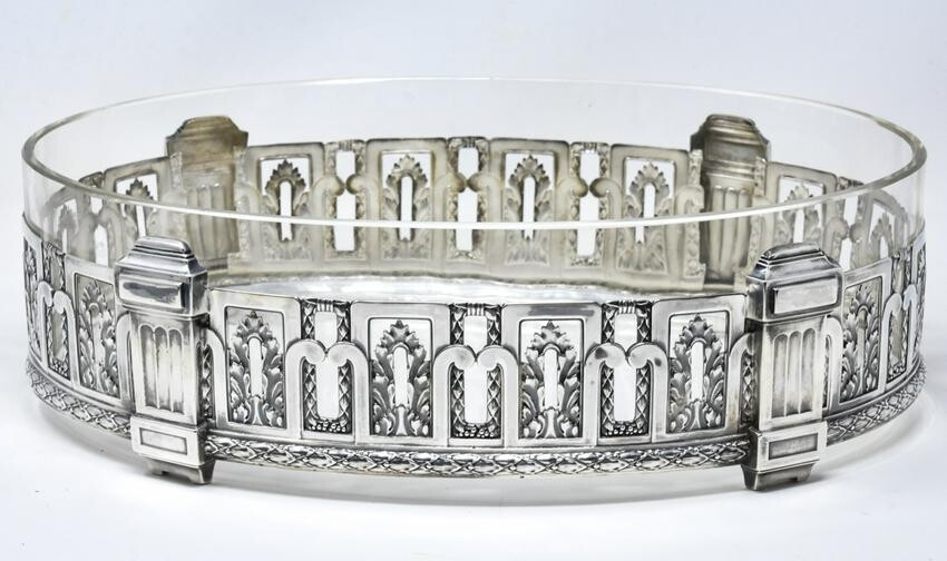 Antique French Empire 950 Sterling Centerpiece
