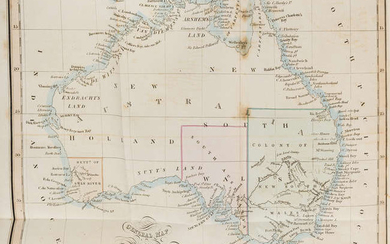 Australia.- [Macarthur (James)] New South Wales; its Present State and Future Prospects, first edition, 1837.