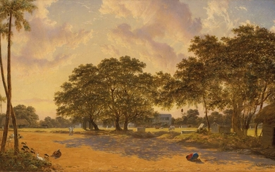 C.J. Martin (fl.1843-1853), View in Calcutta