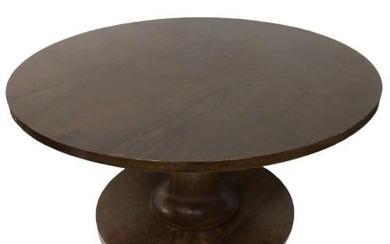 CUSTOM WORMLEY DUNBAR STYLE ROSEWOOD TABLE 30""