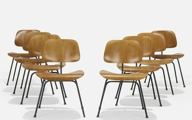 Charles and Ray Eames, DCMs, set of eight