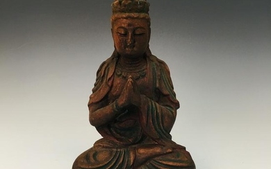 Chinese Eaglewood Buddha Figure