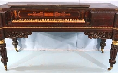 Extremely rare Federal Forte Rosewood piano