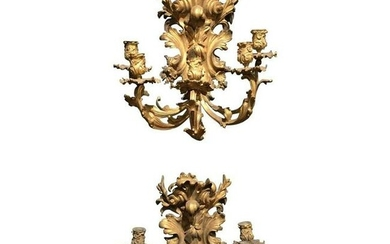 French Five-Light Sconces