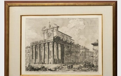 Giovanni Battista Piranesi (1720-1778): Veduta del