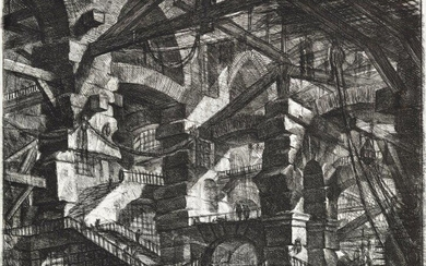 Giovanni Battista Piranesi, Italian 1720-1778- The Gothic...
